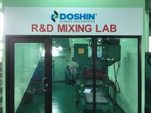 R&D mixing lab
